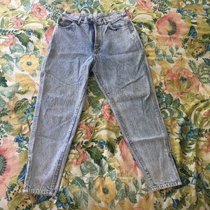 Vintage Lee mom jeans ankle length, S